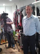 Peter Green with BBC North West Tonight