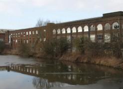 The former Vernon Carus mill in Penwortham