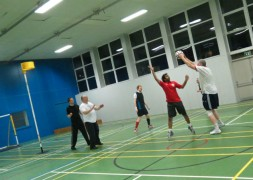 Korfball in action