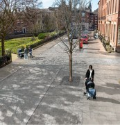 Pavements would be widened to make it easier to navigate the Square