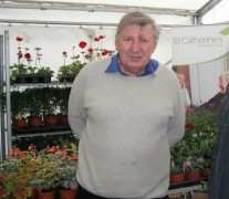 Bill Blackledge will be on hand to give gardening advice