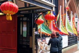 Guildhall Street on Winckley Weekend