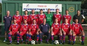 Penwortham Town's seniors Saturday side