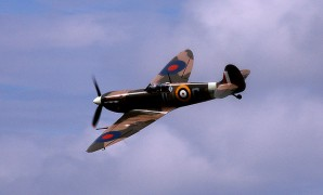 The Spitfire will fly over the city centre