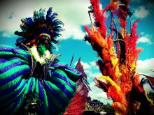 Colourful carnival Pic: Ali Dean