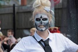 Skelton woman Pic: Jim Beattie