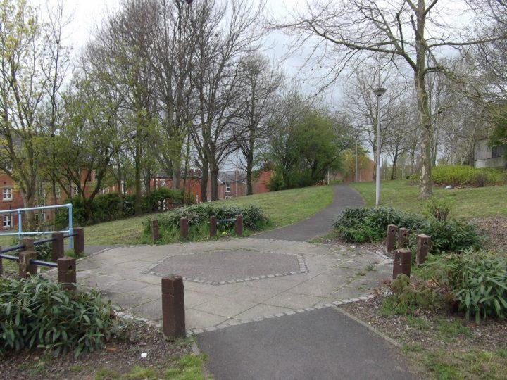 Euston Street Park is being worked on by volunteers
