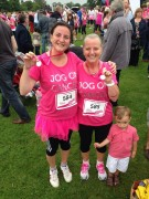 Adele Bamber and her mum are all smiles