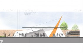 How the tram stop could look on Deepdale Street
