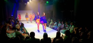 The show inside St Peter's Arts Centre on campus
