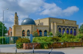 Paul Melling snapped the work ongoing at the mosque