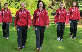 Joanna Drinkhall, Hannah Hicks, Kelly Sibley, Karina Le Fevre and Tin-Tin Ho