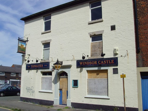 The former Windsor Castle pub was empty for years, but has now been turned into affordable flats