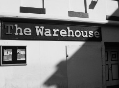 The Warehouse hosted the gig by Joy Division