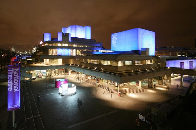 The National Theatre in London Pic: Ben Hodgson