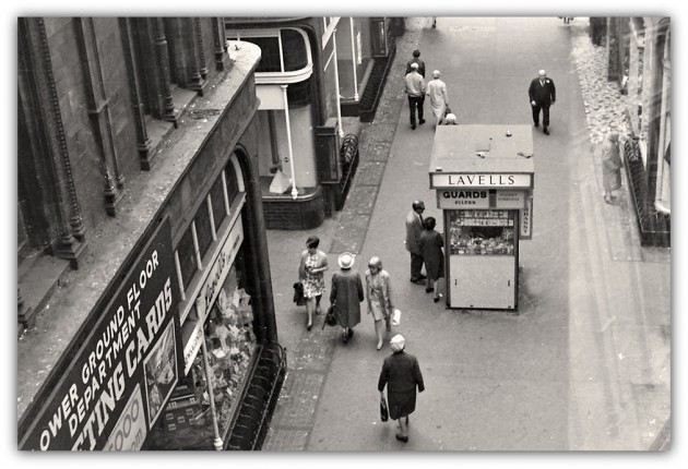 Fabulous view of Lavells Cigarette Kiosk, Miller Arcade, Preston, 1960's From the Terry Martin collection