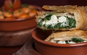 Greek food from the Lytham restaurant Pic: Olive Tree Brasserie