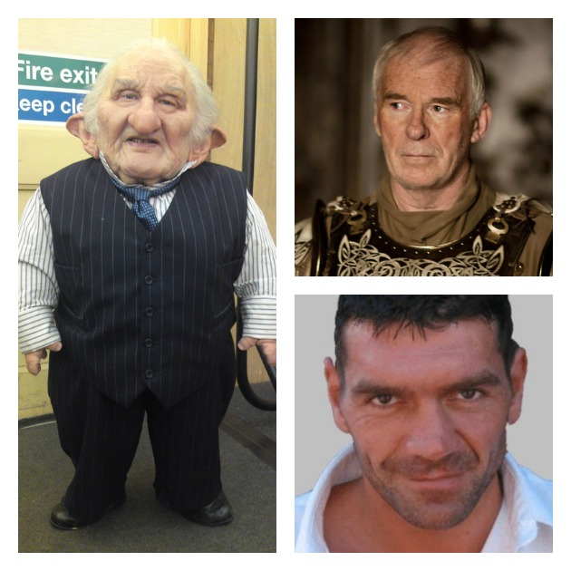 Left to right: Michael Henbury, Ian McElhinney and Spencer Wilding
