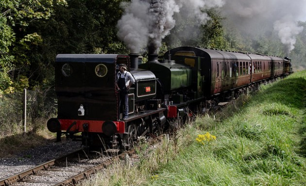 Vulcan + No 6 (3) at the Ribble Steam Railway