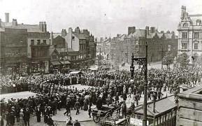 Preston Pals on the Flag Market in 1914
