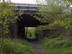 Remnants of the old Preston-Southport line can still be seen. Pic: Shabbagaz