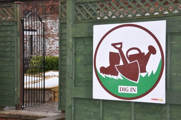 The Dig In Garden in Ashton Park, Preston