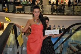 Fashion show in Fishergate in September