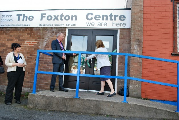 Foxton Centre Re-opening ceremony