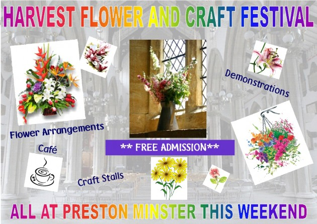 Minster Harvest Weekend Poster