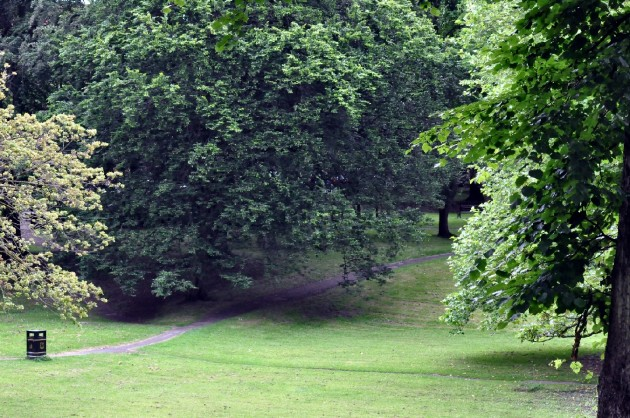Winckley Square gardens current view
