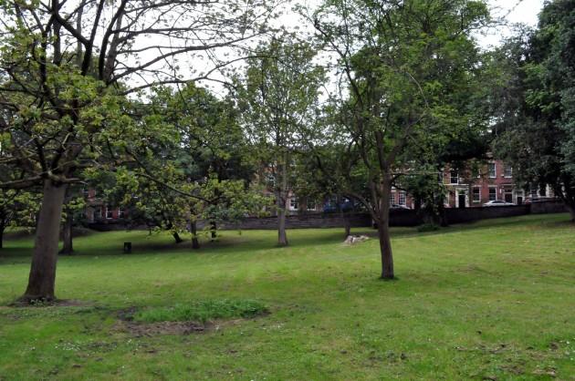 Winckley Square gardens