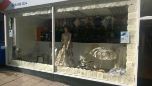 Age UK were judged by the public to have the best window display
