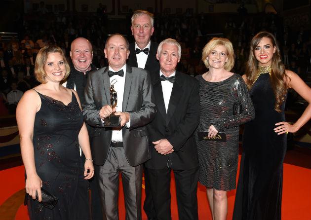 Foxton Centre team with their award