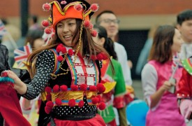 Chinese colours and styles celebrated through dance Pic: Norbet1