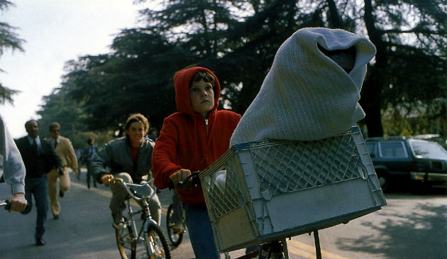 ET, one of those moments in film we all remember...