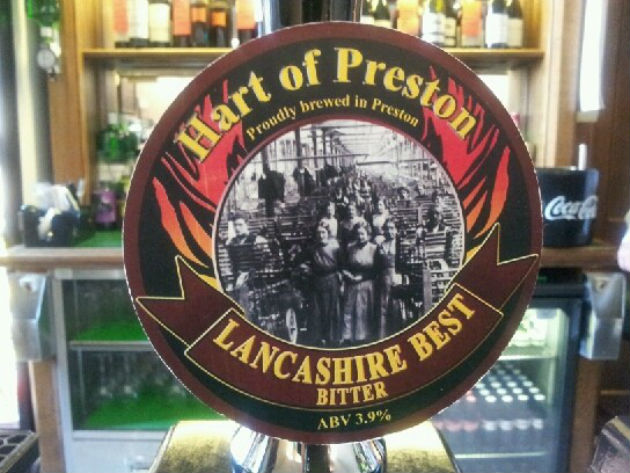 Hart of Preston's ale can be found in pubs across the city
