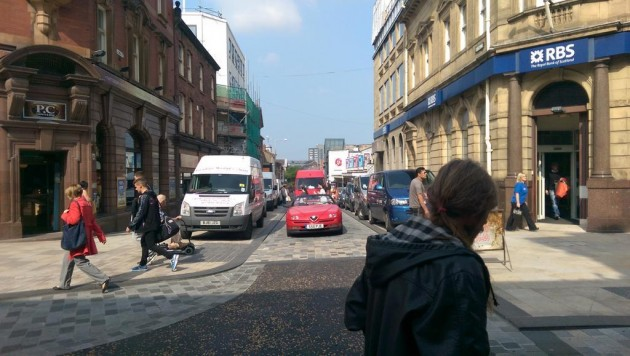Lune Street on Thursday morning