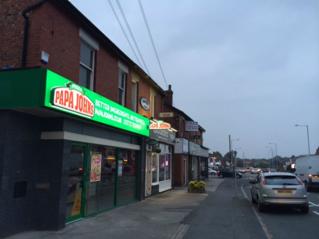 The new Pappa Johns on Liverpool Road