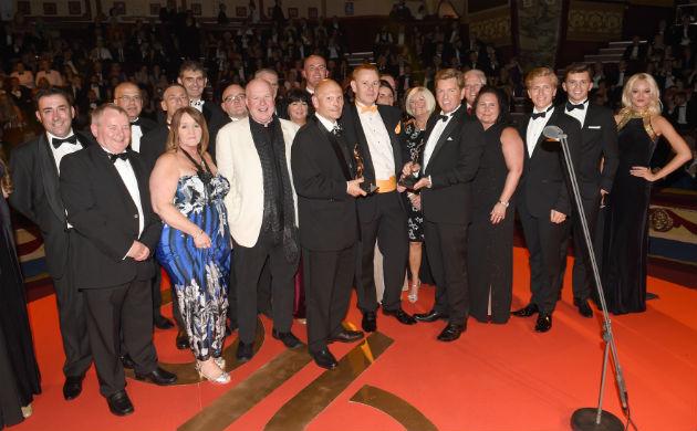 Preston Bus and Springhill Care share a prize