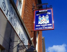 The Royal Garrison pub snapped in 2009 when it was still operating Pic: Tony Worrall