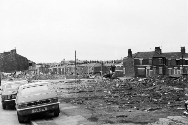 03 - Demolitions, Ashton Street, Preston c. 1984