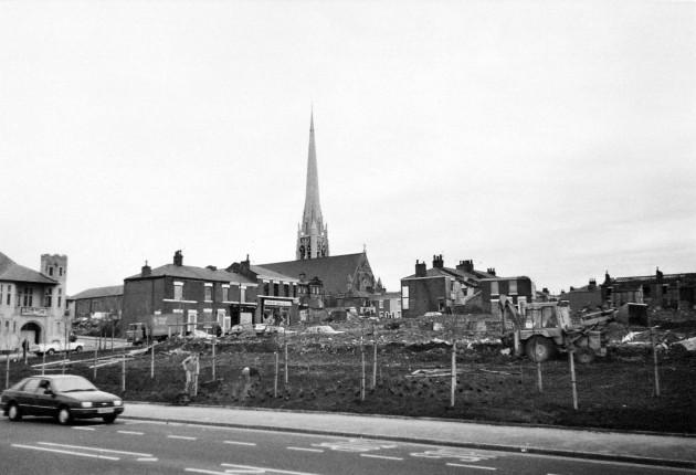 04 - Fylde Road - Ashton Street - Fleetwood Street - Whittingham Street, Demolitions, Preston c.1984