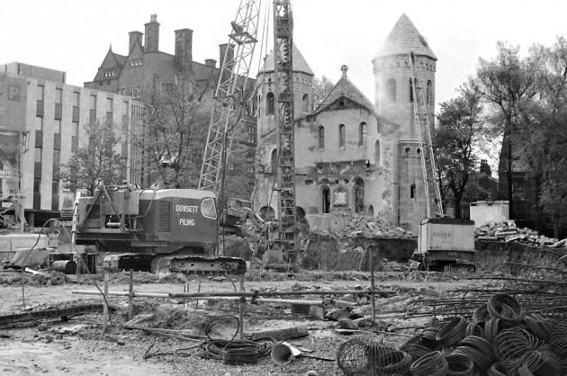 06 - Demolition of Christ Church, Preston c.1971 Terry Martin