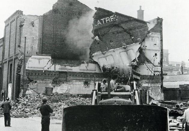 07 - Demolition of the Prince's Theatre Preston 1964 LEP