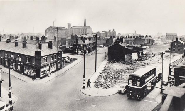 10 - Site of Preston's new Bus Station 1964