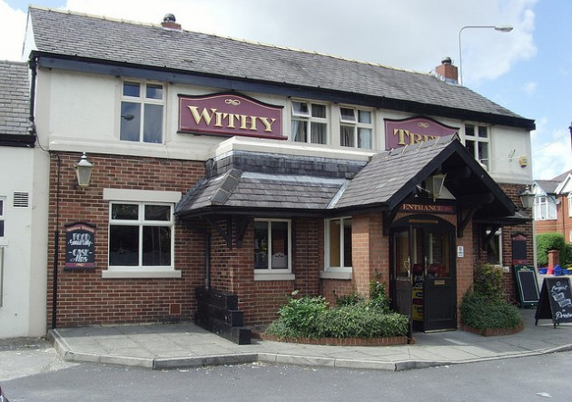 The Withy Trees pub previously