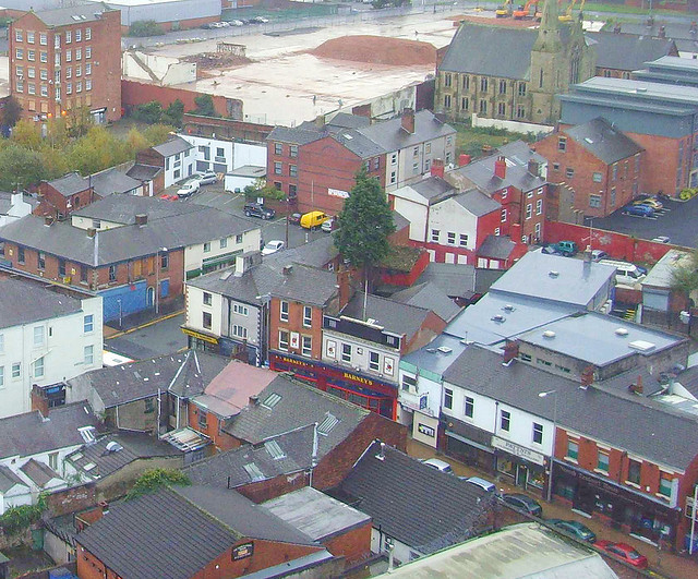 Church Street viewed from above Pic: Tony Worrall