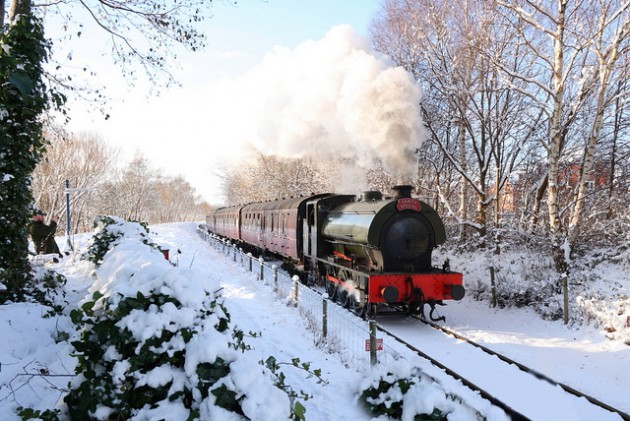 A Santa's Special on the line in 2010 Pic: Johnny English