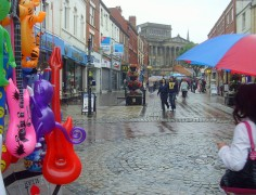 A typical scene in Preston, no really, statistically it is!