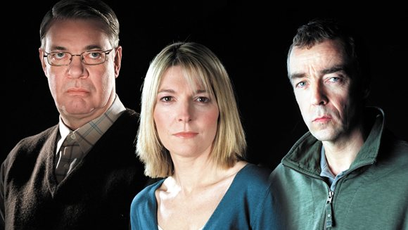 Matthew Kelly, Jemma Redgrave and John Hannah in the ITV series Cold Blood